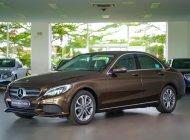Bán Mercedes-Benz C200 2017 nâu, cũ chính hãng, đi chỉ 25km giá 1 tỷ 459 tr tại Tp.HCM