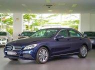 Bán Mercedes-Benz C200 2018 màu xanh, mới chính hãng, ưu đãi 8% thuế trước bạ giá 1 tỷ 460 tr tại Tp.HCM