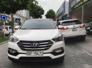 Bán ô tô cũ Hyundai Santa Fe 2.2 AT 2016, màu trắng giá 1 tỷ 140 tr tại Hà Nội