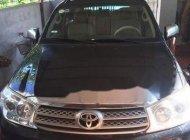 Bán ô tô Toyota Fortuner đời 2009, màu đen giá cạnh tranh giá 341 triệu tại Hà Nội