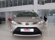 Cần bán Toyota Vios E AT 2017 màu vàng cát giá 519 triệu tại Tp.HCM
