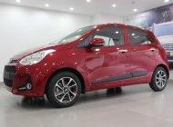 Bán Hyundai I10 1.2 AT đỏ khuyến mãi tháng 8 hấp dẫn, hỗ trợ vay trả góp LS thấp. Liên hệ để được giá tốt và có xe sớm nhất giá 415 triệu tại Tp.HCM
