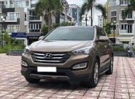 Cần bán lại xe Hyundai Santa Fe sản xuất năm 2016, màu nâu như mới giá 1 tỷ 30 tr tại Hà Nội