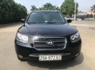 Bán ô tô Hyundai Santa Fe MLX 2.2 4x4 đời 2007, màu đen, nhập khẩu   giá 488 triệu tại Hà Nội