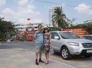 Cần bán gấp Hyundai Santa Fe SLX sản xuất năm 2009, màu bạc, nhập khẩu giá 640 triệu tại Khánh Hòa