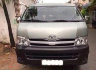 Cần bán xe Toyota Hiace sản xuất năm 2012, màu bạc ít sử dụng giá Giá thỏa thuận tại Đà Nẵng