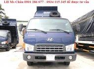 Xe ben Hyundai HD65 1,75 tấn/Nhập khẩu Hàn Quốc/giá sôc/trả góp 70%/thủ tục nhanh/giao xe ngay giá 420 triệu tại Kiên Giang