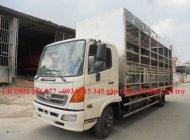 Bán xe tải Hino FC9JL TA thùng 6m6 thùng chở xe máy, linh kiện Nhật, giá cạnh tranh, lãi suất thấp, vay tới 70% giá 870 triệu tại Kiên Giang