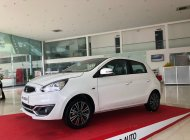[Siêu giảm] Mitsubishi Mirage giá cực rẻ, màu trắng, nhập khẩu Thái, lợi xăng 5L/100km, cho góp 80% giá 350 triệu tại Đà Nẵng