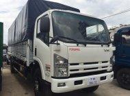 Giá xe tải isuzu 8t2 thùng dài 7m1 nhập khẩu giá rẻ trả góp toàn quốc giá 650 triệu tại Tp.HCM