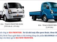 Xe tải KIA K250 2.49T lưu thông thành phố - động cơ hyundai - euro4 - hỗ trợ trả góp lên đến 70-75% giá 389 triệu tại Bình Dương