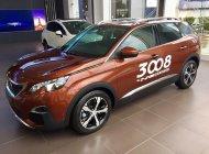 Bán Peugeot 3008 sản xuất năm 2018, màu cam giá 1 tỷ 199 tr tại Hà Nội
