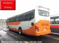 Giá bán xe khách 45chỗ (+2 ghế) Thaco, Thaco 47chỗ đời 2018, Thaco Blusky TB120S giá 2 tỷ 480 tr tại Tp.HCM