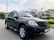 Mercedes ML 350 nhập Mỹ 2007 màu đen 5 chỗ, hàng full đồ chơi ngầm cao hai cầu giá 465 triệu tại Tp.HCM