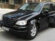 Bán Mercedes ML320 sản xuất năm 2002, màu đen, nhập khẩu chính chủ giá 255 triệu tại Hải Phòng