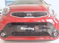Bán xe Kia Morning sản xuất năm 2018, màu đỏ giá 379 triệu tại Bình Dương