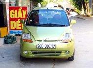 Cần bán Chevrolet Spark Van 0.8 MT 2010, màu xanh lam, tiết kiệm nhiên liệu  giá 115 triệu tại Thanh Hóa