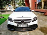 Mercedes C300 AMG 2016, phiên bản độ full body C63, màu trắng giá 1 tỷ 555 tr tại Hà Nội