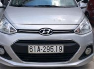 Cần bán xe Hyundai Grand i10 AT sản xuất năm 2016, màu bạc, xe nhập, giá chỉ 378 triệu giá 378 triệu tại Tp.HCM