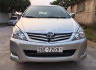 Bán xe Toyota Innova G sản xuất 2010, màu bạc, số sàn giá 385 triệu tại Hà Nội