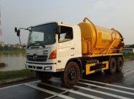 Bán xe hút chất thải, hút hầm Hino 12 khối giá 1 tỷ 200 tr tại Hà Nội