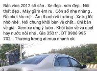 Bán xe Toyota Vios đăng ký 2012, màu vàng ít sử dụng, giá 350triệu giá 350 triệu tại Bình Dương