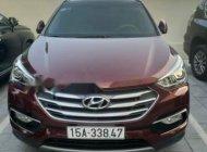 Bán Hyundai Santa Fe sản xuất năm 2017, màu đỏ chính chủ giá 999 triệu tại Hải Phòng