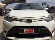 Bán xe Toyota Vios 1.5E đời 2016, màu trắng, giá thương lượng với khách hàng có thiện chí mua xe giá 520 triệu tại Tp.HCM