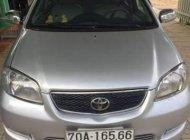 Cần bán Toyota Vios đời 2003, màu bạc, nhập khẩu nguyên chiếc giá 197 triệu tại Tây Ninh