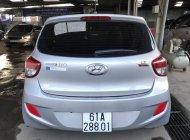 Bán Hyundai Grand i10 1.2AT HB màu bạc, số tự động, nhập Ấn Độ 2015, xe đẹp 90% giá 368 triệu tại Tp.HCM