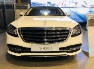Bán Mercedes S450L năm sản xuất 2018, màu trắng giá 4 tỷ 199 tr tại Hà Nội