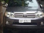 Bán lại xe Toyota Fortuner đời 2009, màu xám giá 540 triệu tại Hà Nội