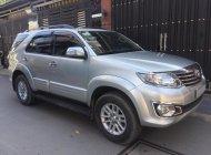 Cần tiền bán Fortuner 2012 đăng ký 2013, số tự động, máy xăng, màu bạc giá 637 triệu tại Tp.HCM