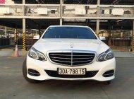 Bán Mercedes Benz E200 2014 trắng, nội thất nâu giá 1 tỷ 330 tr tại Hà Nội