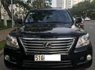 Bán ô tô Lexus LX 570 đời 2009, màu đen, nhập khẩu nguyên chiếc giá 2 tỷ 450 tr tại Tp.HCM