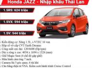 [Đồng Nai] Honda Jazz 2018 giá chỉ từ 544 triệu đồng, giao xe ngay trong tháng 12 giá 544 triệu tại Đồng Nai