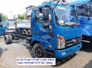 Bán xe tải Veam Vt260-1 1t9 (1.9 tấn) thùng dài 6.2 mét đi vào thành phố ban ngày giá 460 triệu tại Tp.HCM