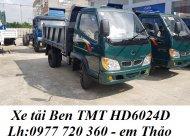Bán xe tải ben TMT Cửu Long 2 tấn 4 I xe ben nhập khẩu 2T4 I Đại lí nào giá tốt giá 329 triệu tại Kiên Giang