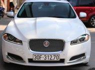 Jaguar XF màu trắng nội thất, da bò model 2014, đăng ký lần đâu 2016 giá 1 tỷ 440 tr tại Hà Nội