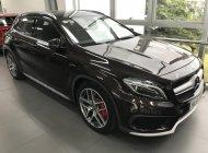 Cần bán Mercedes-Benz GLA 45 2017, màu nâu, chính hãng, xe mới chạy lướt 1600km giá 1 tỷ 570 tr tại Tp.HCM