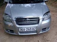 Cần bán xe Daewoo GentraX sản xuất năm 2009, màu bạc giá 160 triệu tại Thanh Hóa