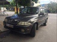 Cần bán Ssangyong Musso sản xuất 2002, màu xám, xe nhập, giá tốt giá 185 triệu tại Đà Nẵng
