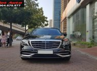 Bán Mercedes-Benz S450 Maybach màu đen nội thất kem, xe sản xuất 2017, đăng ký lần đầu 4/2018 tên Công ty giá 7 tỷ 50 tr tại Hà Nội