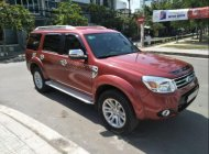 Cần bán lại xe Ford Everest AT sản xuất năm 2014, màu đỏ còn mới giá cạnh tranh giá 650 triệu tại Tp.HCM