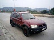 Bán xe Ford Escape 2.0L 4x4 MT đời 2004, màu đỏ   giá 210 triệu tại Nghệ An