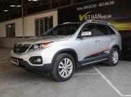 Bán ô tô Kia Sorento 2.4MT đời 2010, màu bạc, nhập khẩu nguyên chiếc giá 528 triệu tại Tp.HCM