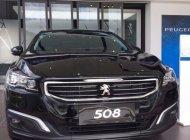 Cần bán gấp Peugeot 508 1.6 AT năm 2015, màu đen, nhập khẩu nguyên chiếc giá 1 tỷ 190 tr tại Tp.HCM