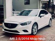 Cần bán lại xe Mazda 6 đời 2014, màu trắng, nhập khẩu nguyên chiếc giá 710 triệu tại Hà Nội