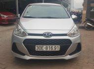Cần bán xe Hyundai Grand i10 1.0MT đời 2017, màu bạc giá 320 triệu tại Hà Nội