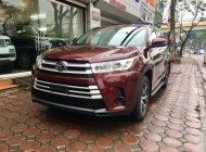 Bán Toyota Highlander LE đời 2018, màu đỏ, xe nhập giá 2 tỷ 680 tr tại Hà Nội